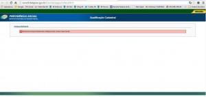 Qualificação Cadastral_Erro